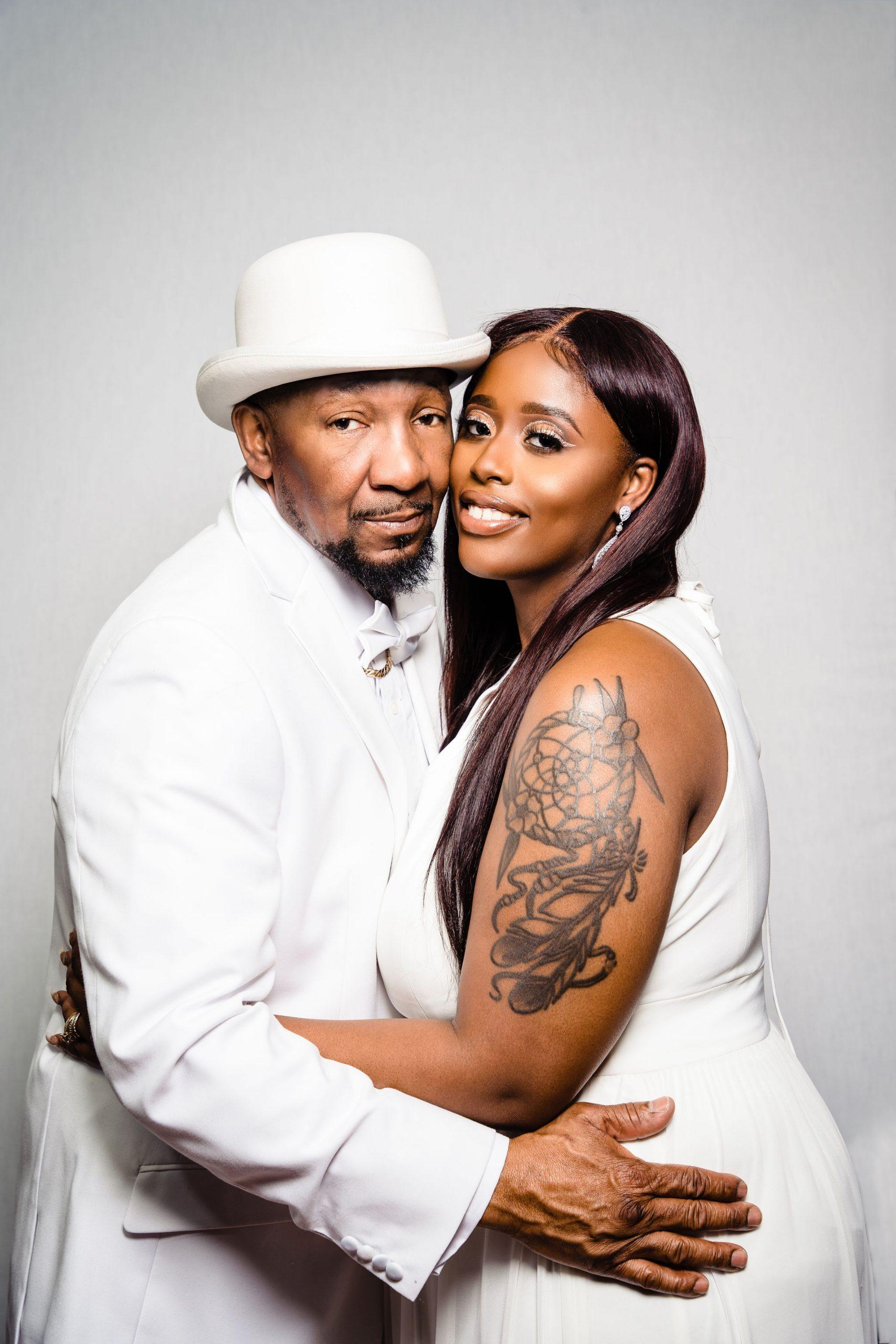Philadelphia In home Family portrait couple shot