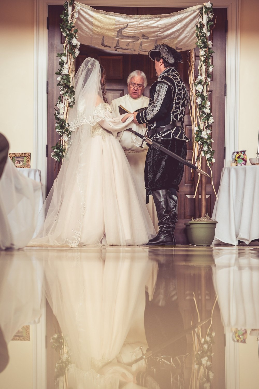 renaissance-themed-wedding-ceremony