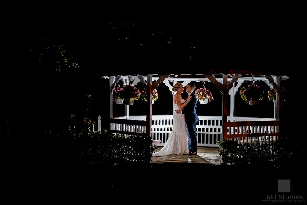 Fine art wedding photography is based on drama. Dramatic lighting, dramatic dips and poses, and generally epic vistas to boot. Here's an example of an epic portrait we did at a recent wedding at  Catering By Massos . These images are beautiful to look at and will certainly garner all the likes on your social media, but be prepared to take time out of your day--maybe 15 min or more for a single photo--to get the lighting just right, the posing on point, and the angle perfected. If you don't like spending a LONG time on your pictures then epic/fine art styled images are not for you. Here at J&J Studios, we are fully capable in the epic style, but please allow copious time on your wedding day (usually 2+ hours) for your bridal portraits if you desire this style of image.