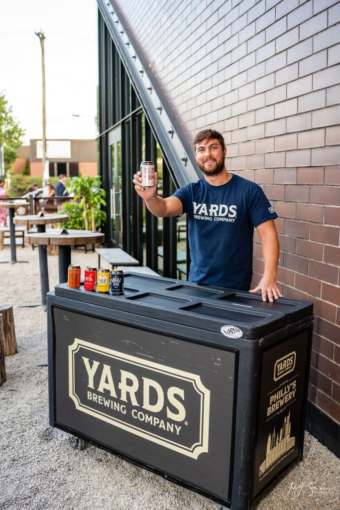 yards brewing brushes with cancer philly