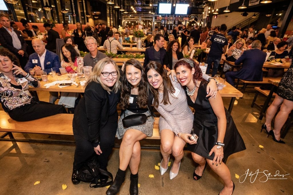 Jenna Benn Shersher and guests twist out cancer