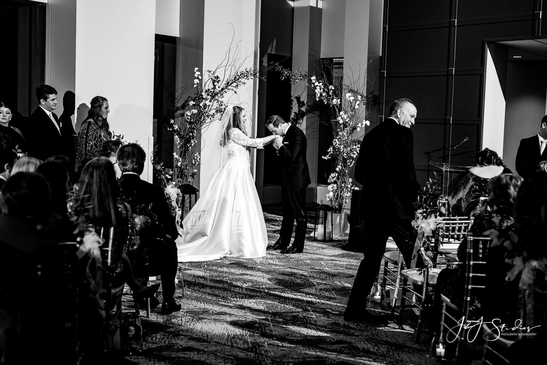 vue on 50 wedding ceremony