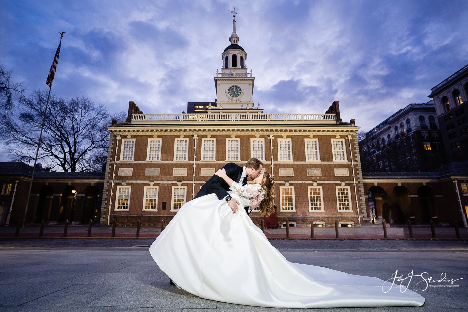 national constitution center wedding party