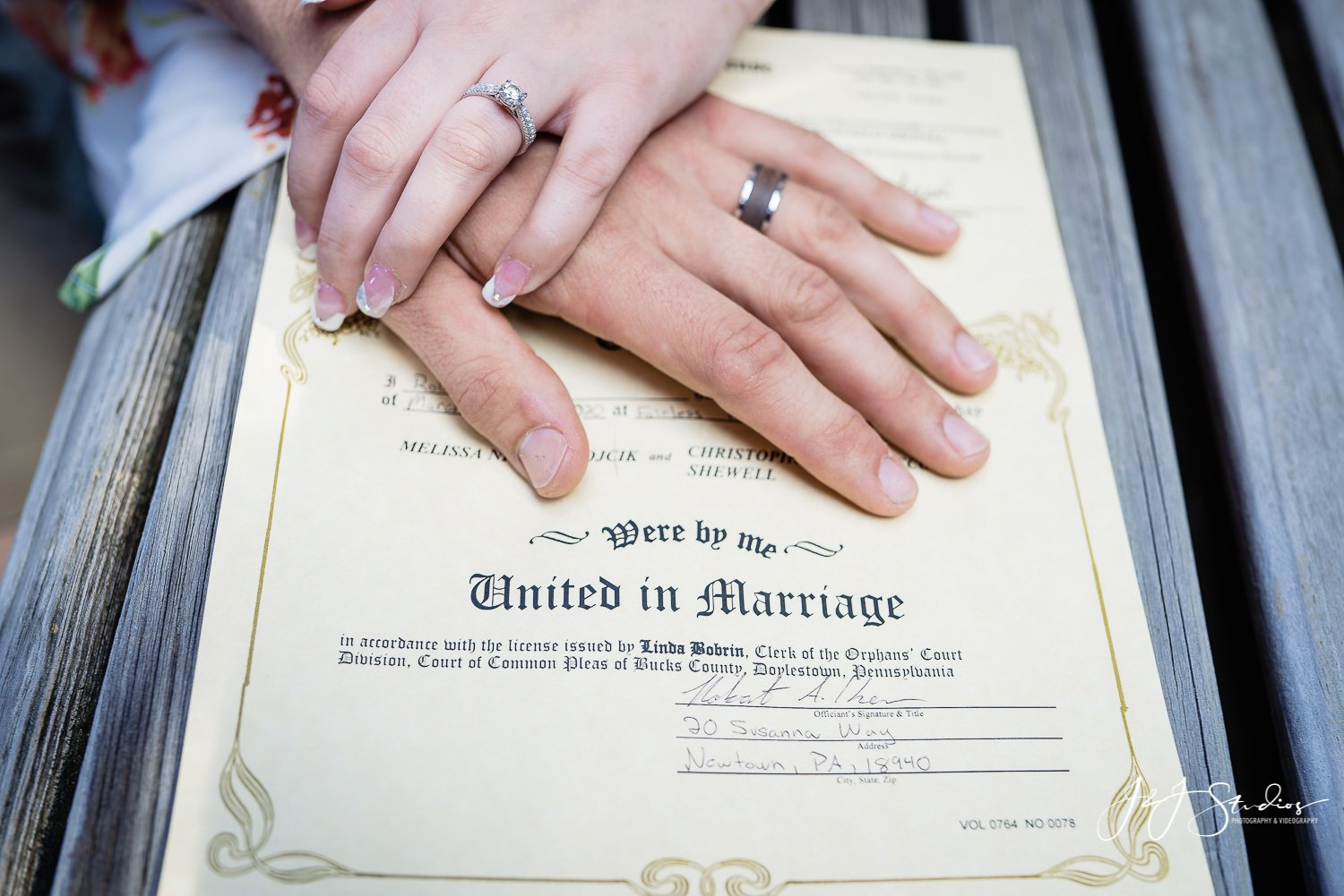 elopement packages in Montgomery County, PA