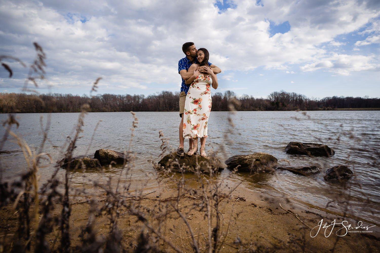 Core Creek Park engagement photography