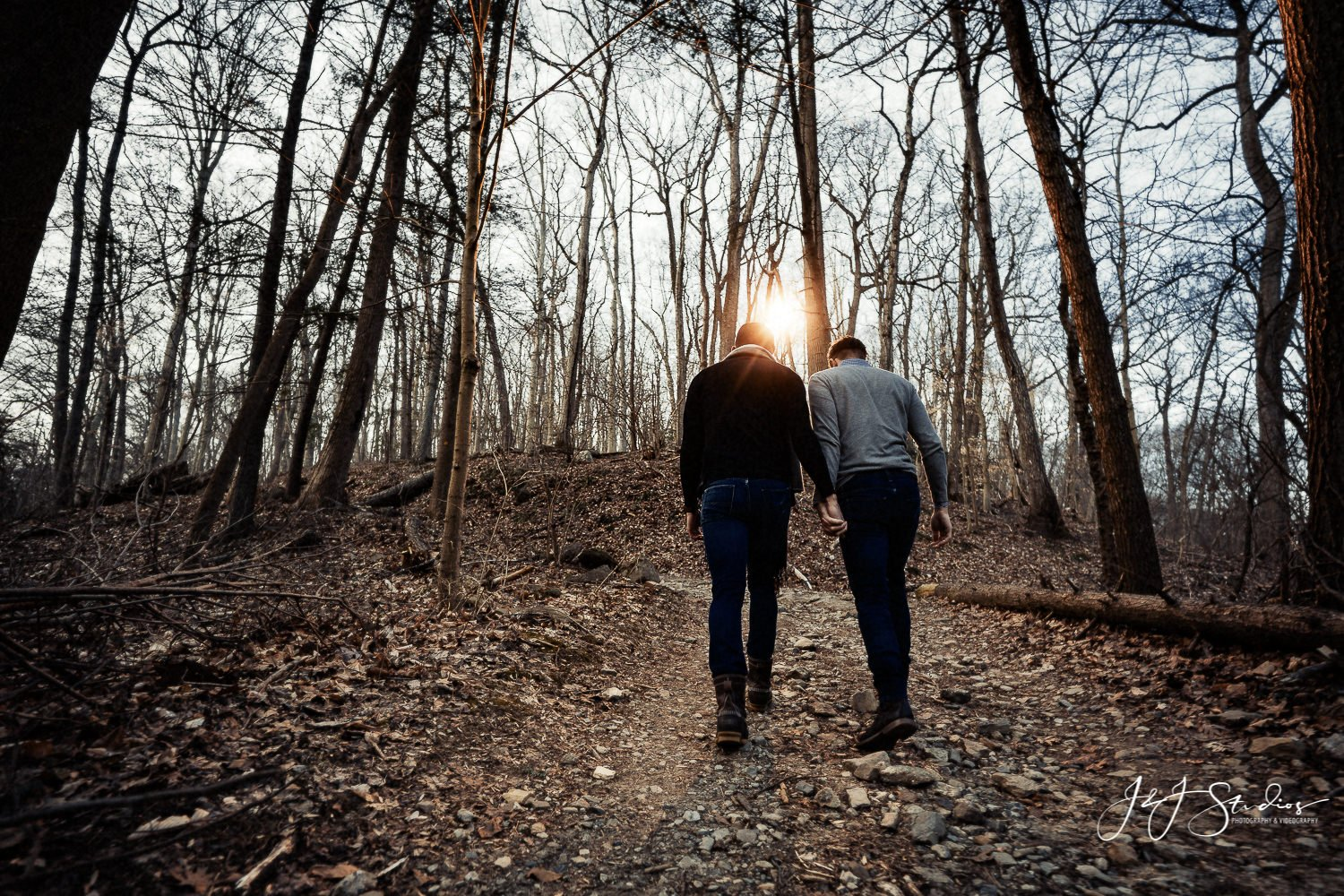 Wissahickon Valley Park Engagement