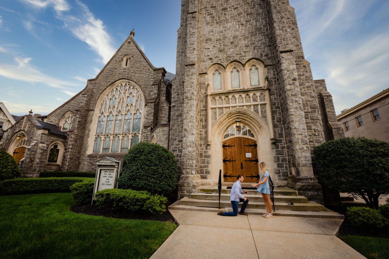 First Presbyterian Church in New Jersey grass proposal