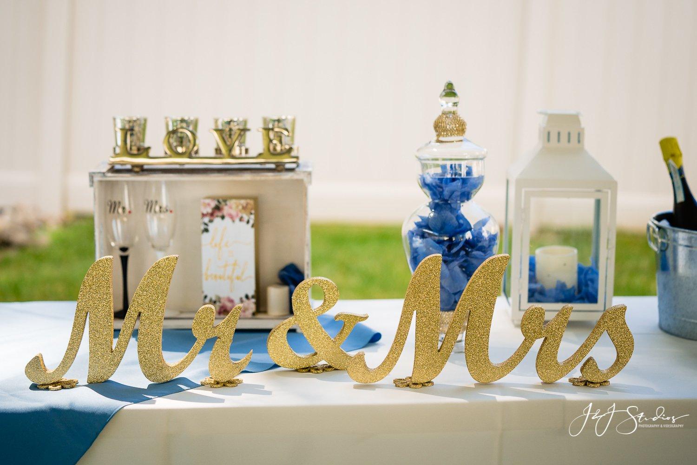 cute wedding decorations