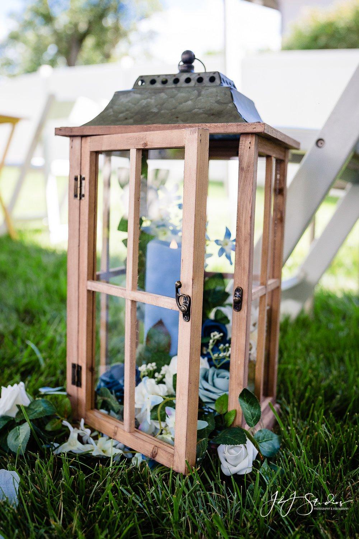 wedding lantern decor
