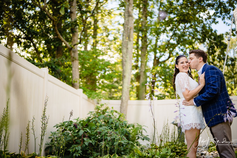 backyard wedding voorhees township nj