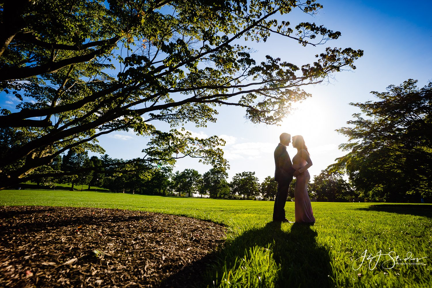 sunset longwood gardens maternity