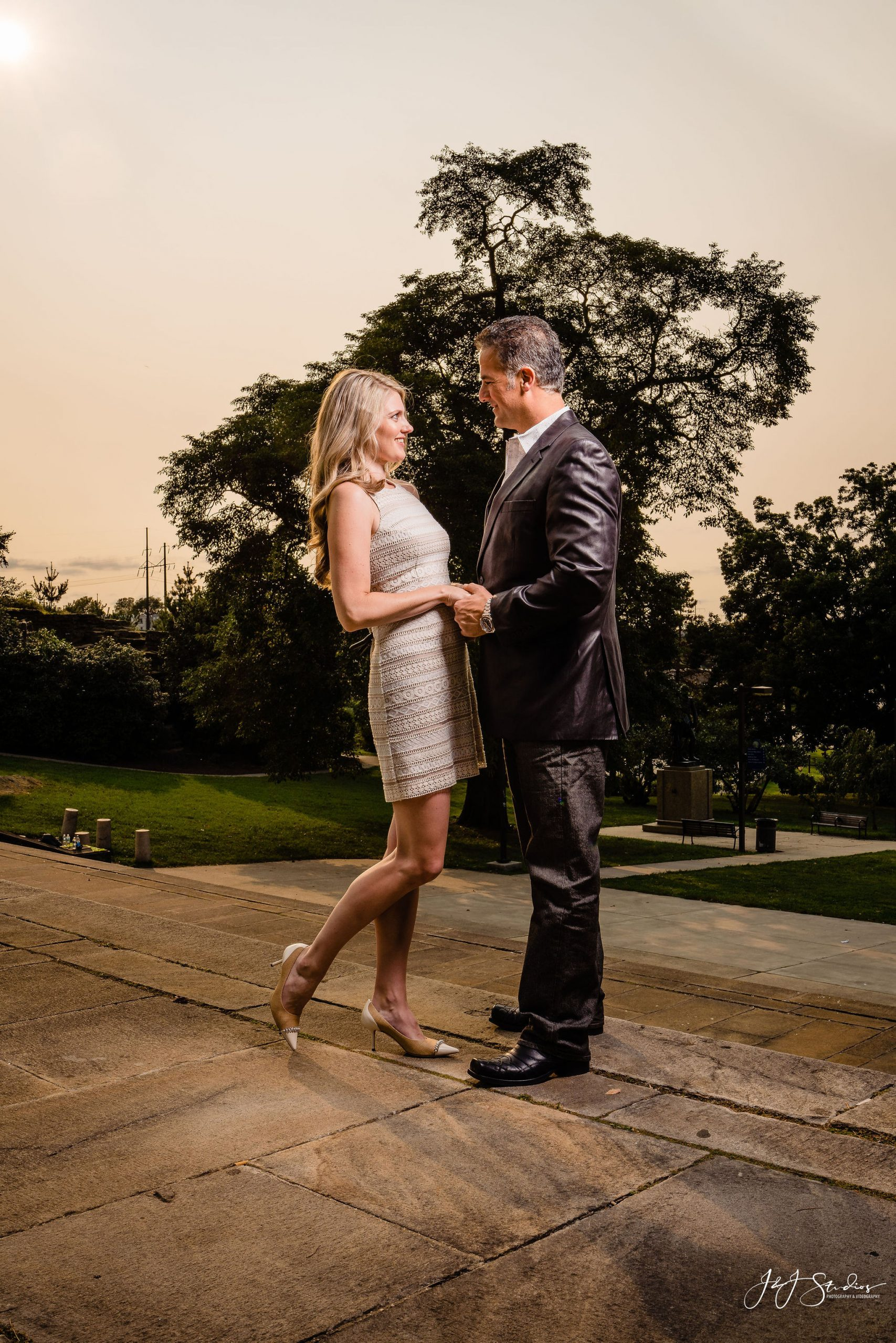 philadelphia museum of art engagement shoot