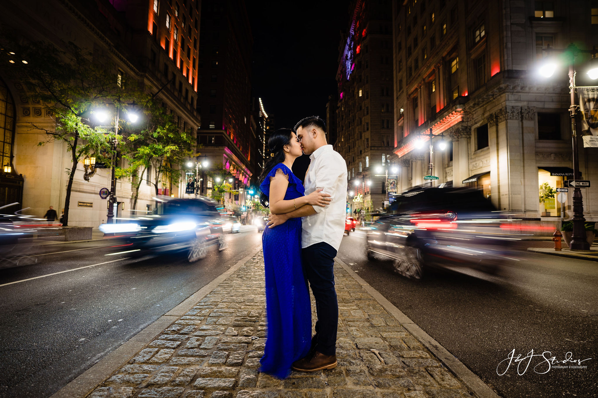 downtown philly traffic wedding