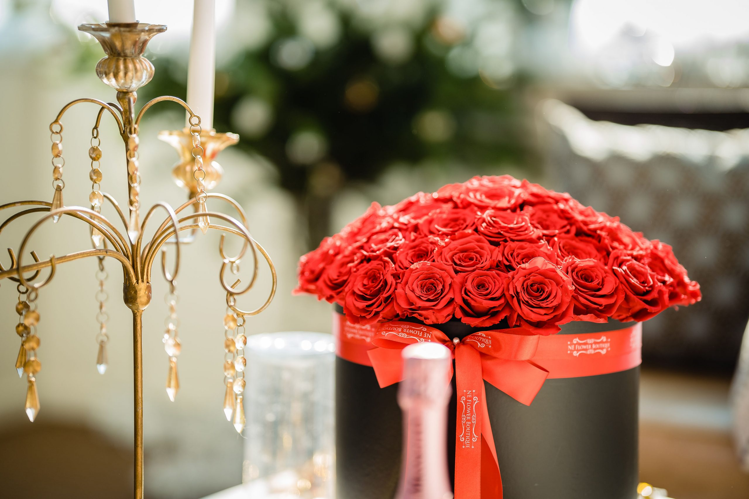 Flower boutique styled shoot