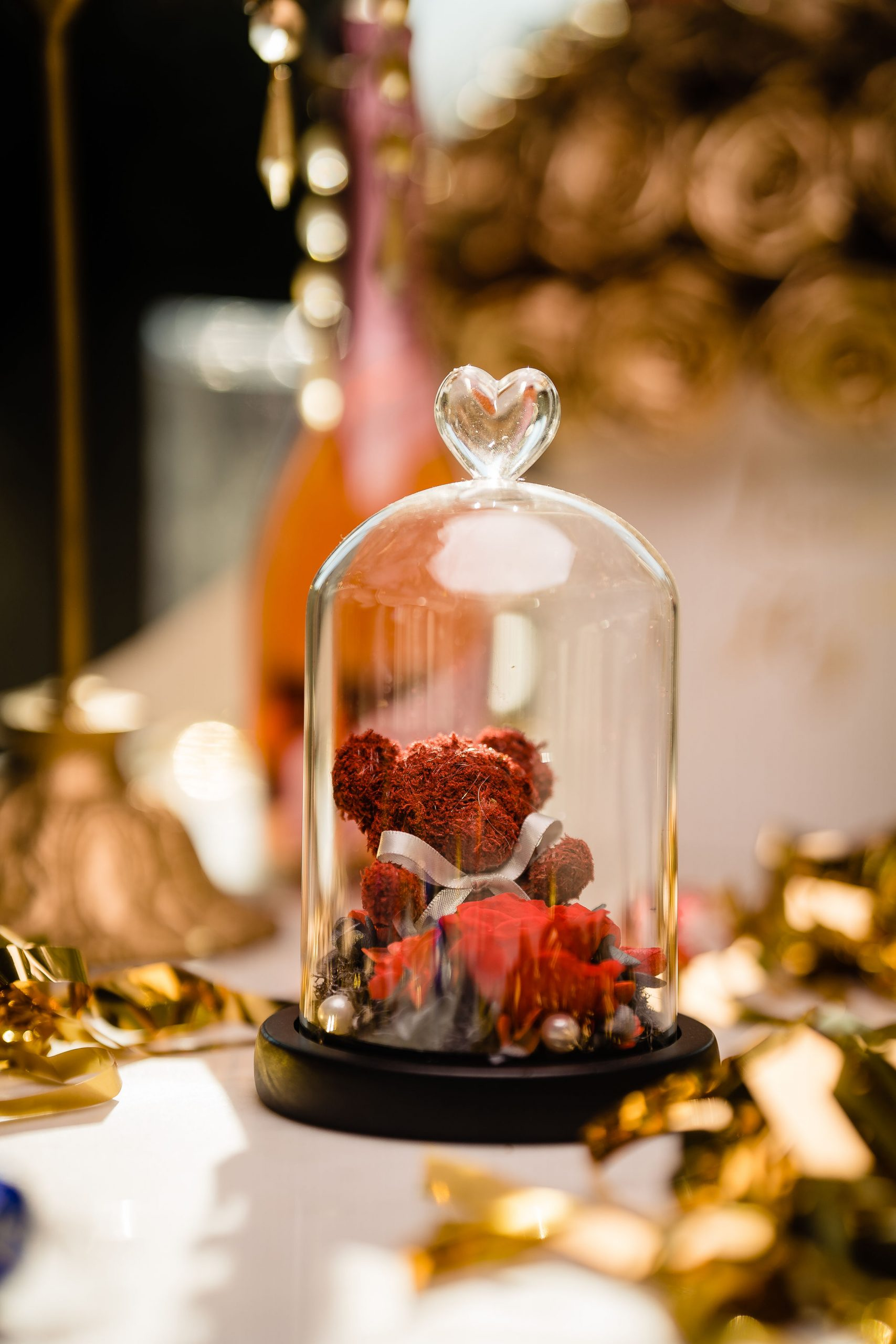 Beautifully arranged flower boutique styled shoot
