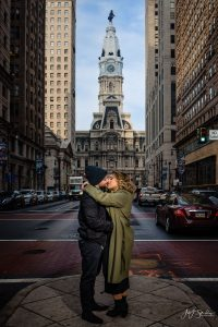 Josie and Daniel Downtown Philadelphia Engagement Session