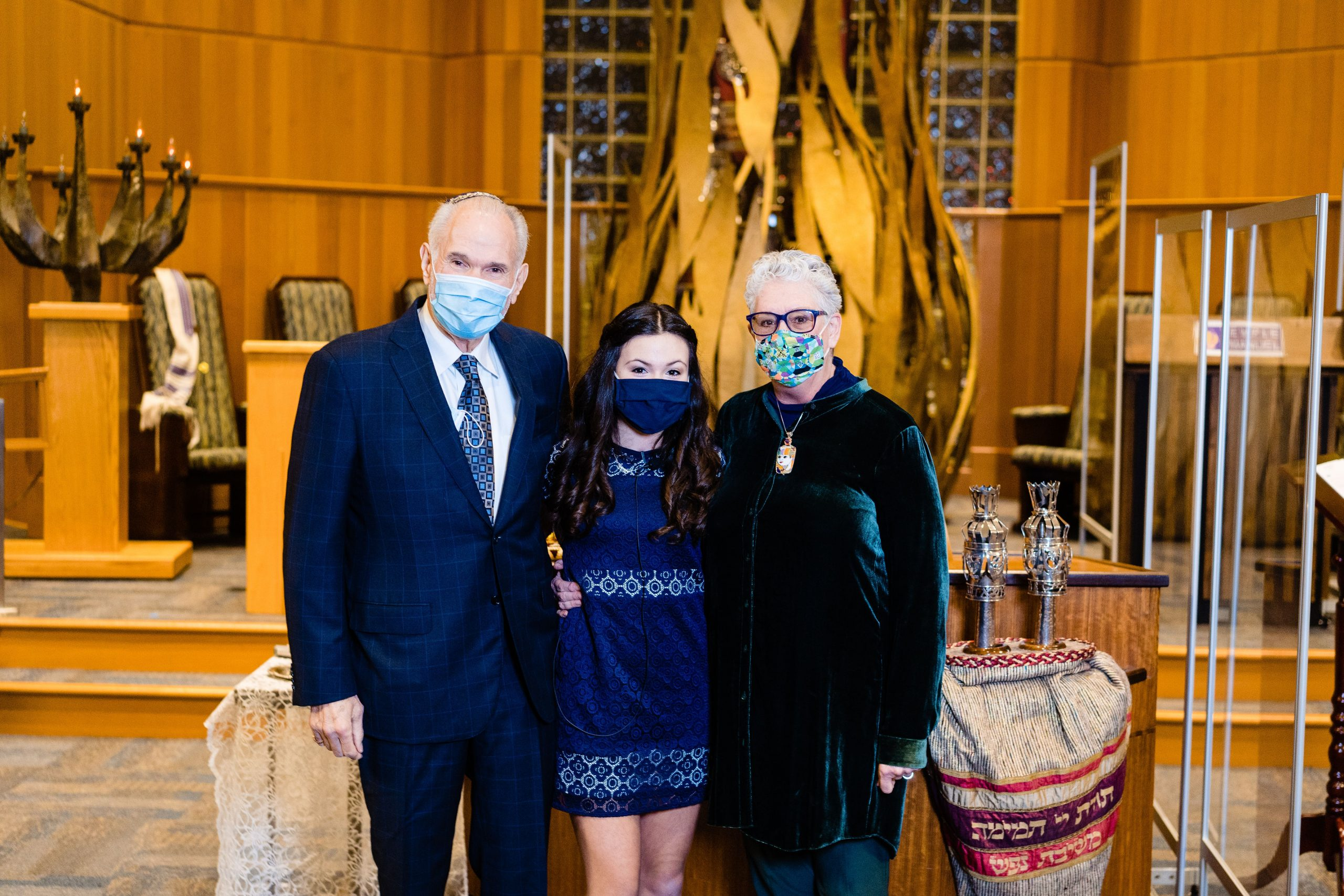 Sydney and Rabbi New Jersey bat mitzvah photography