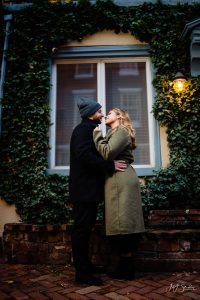 Addison Street Downtown Philadelphia engagement