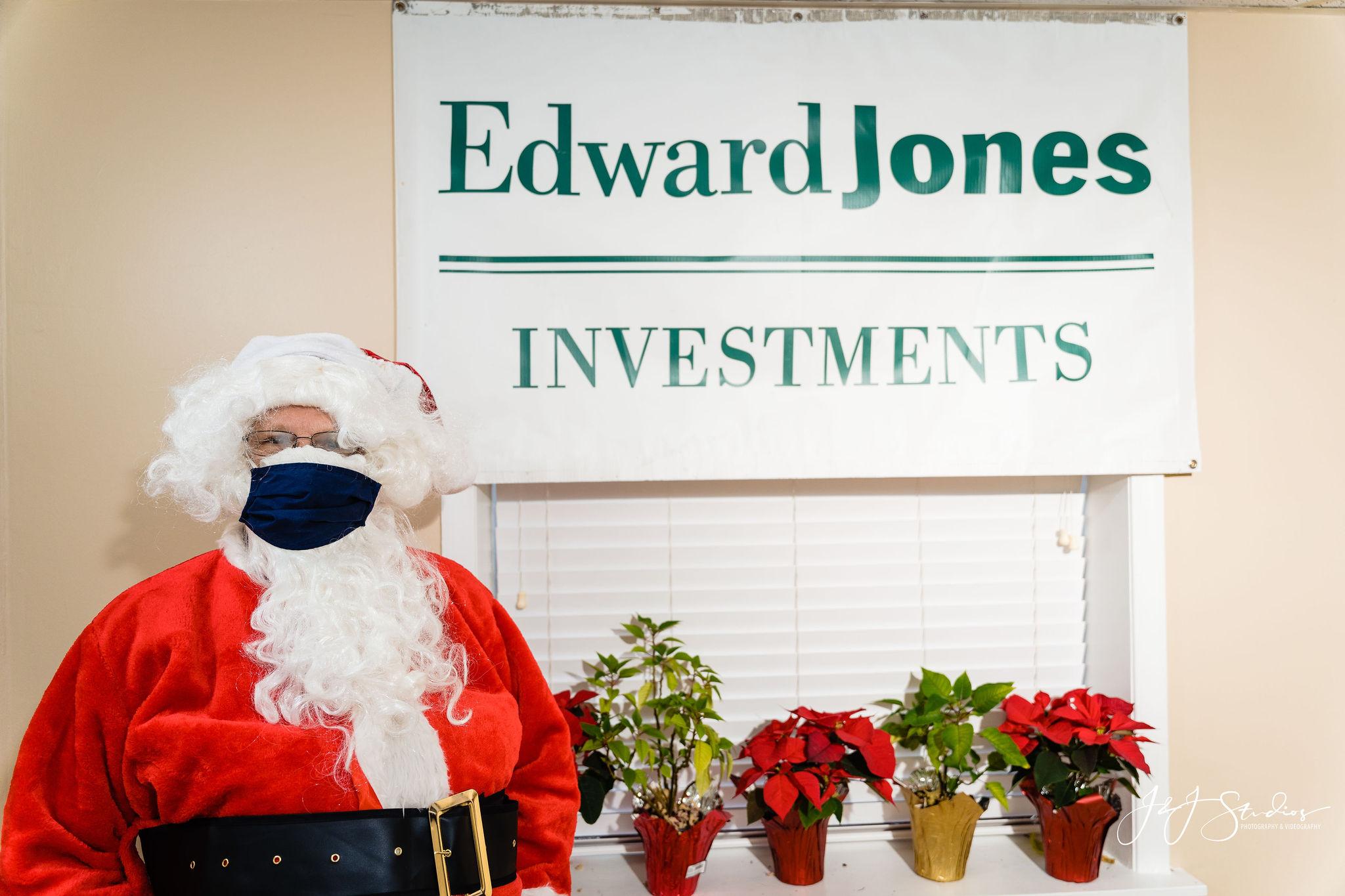 Santa with mask
