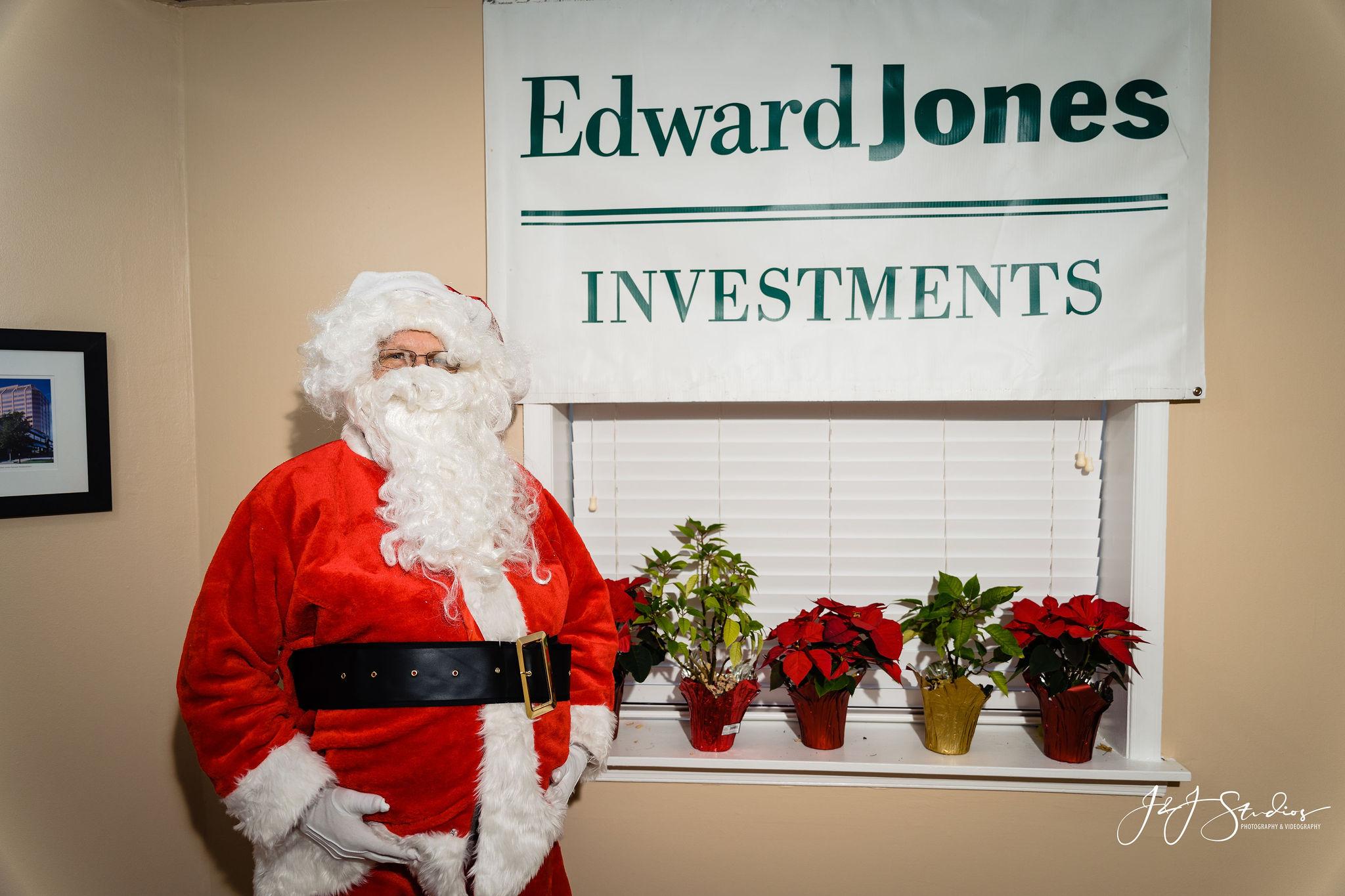 Santa Philadelphia Corporate holiday portraits
