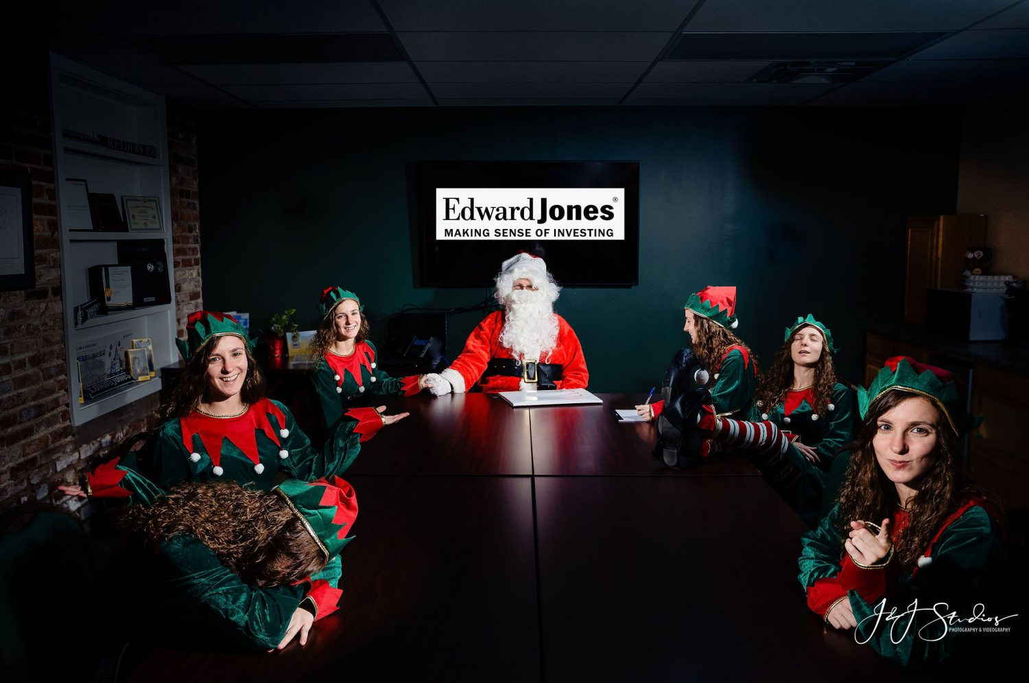 Holiday corporate session