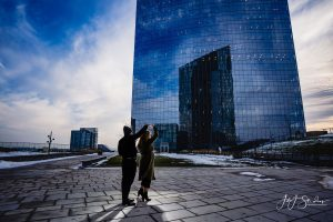 Cira GreenDowntown Philadelphia engagement