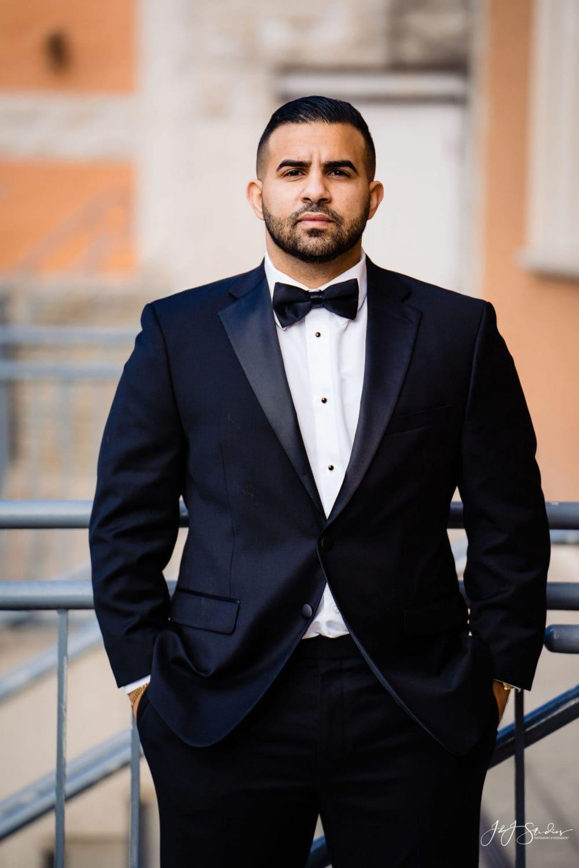 Handsome Groom Orthodox Wedding Session