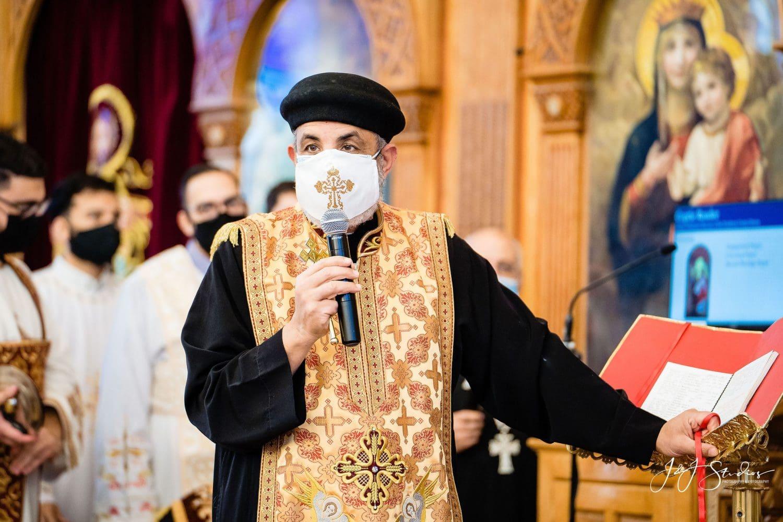 Priest at  Orthodox Wedding Session