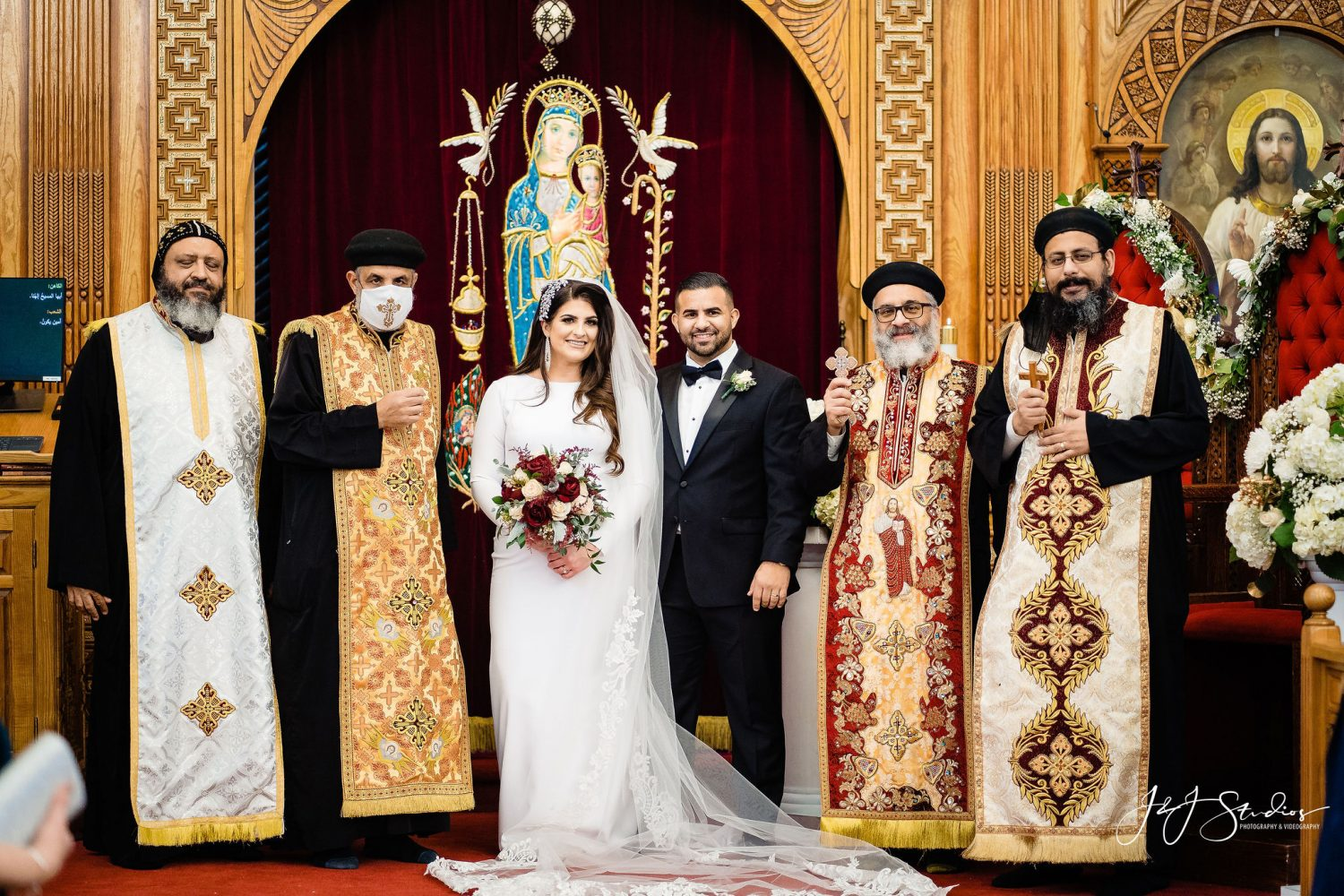 After ceremony Orthodox Wedding Session