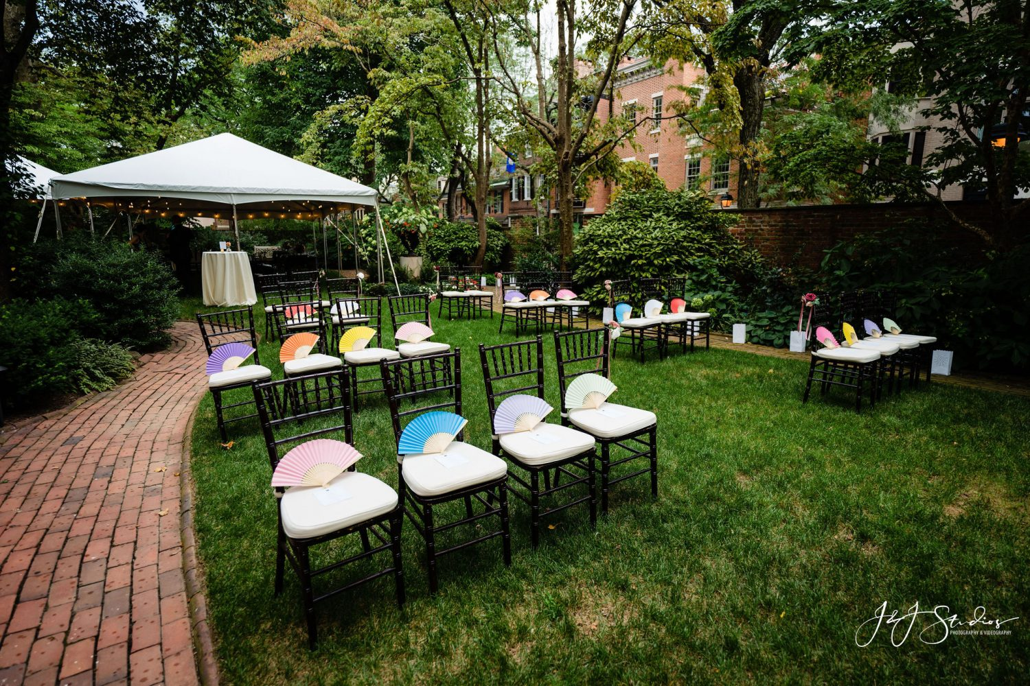Outdoor venue Philly Micro Wedding Photographer