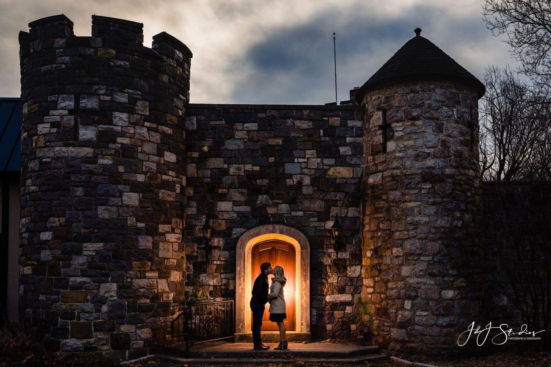 castle kiss engagement