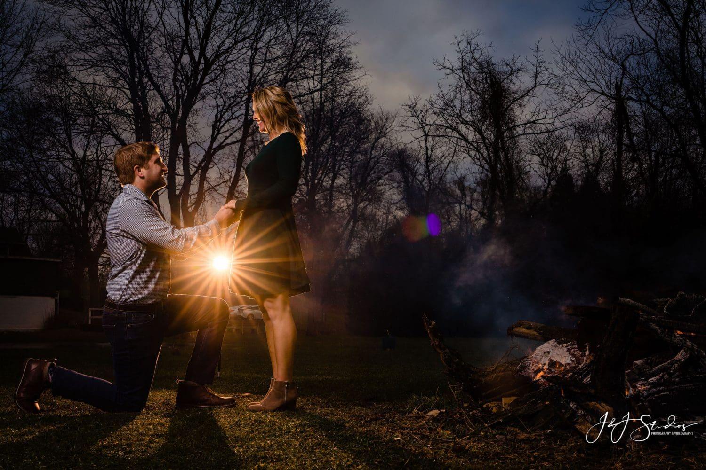 sun backlit proposal