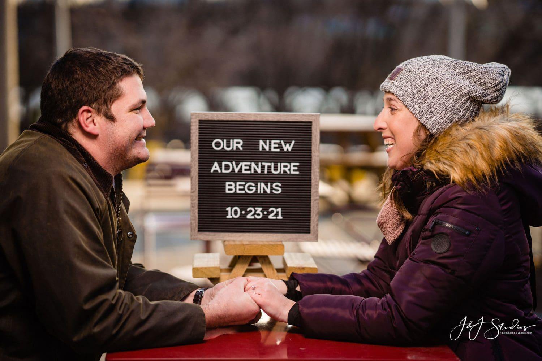 Lauren and Brian wedding date
