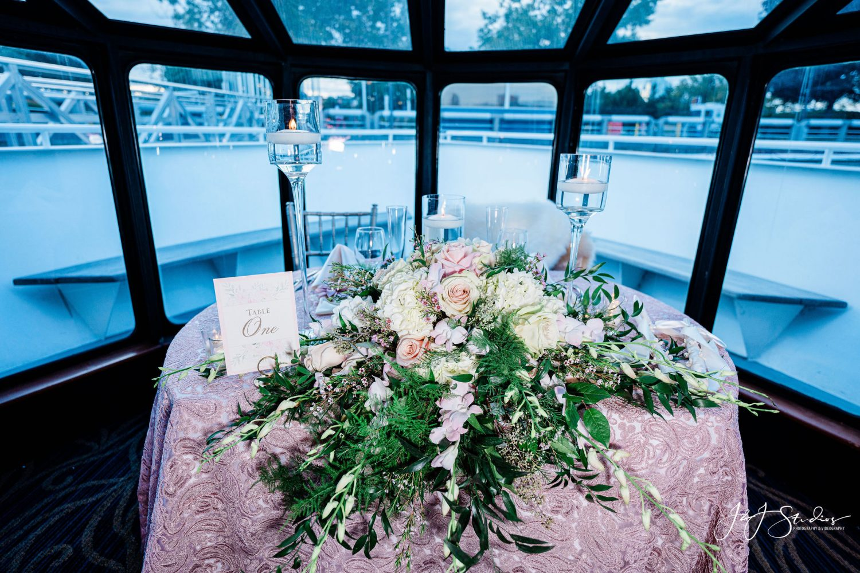Beautiful Spirit of Philadelphia Wedding Reception