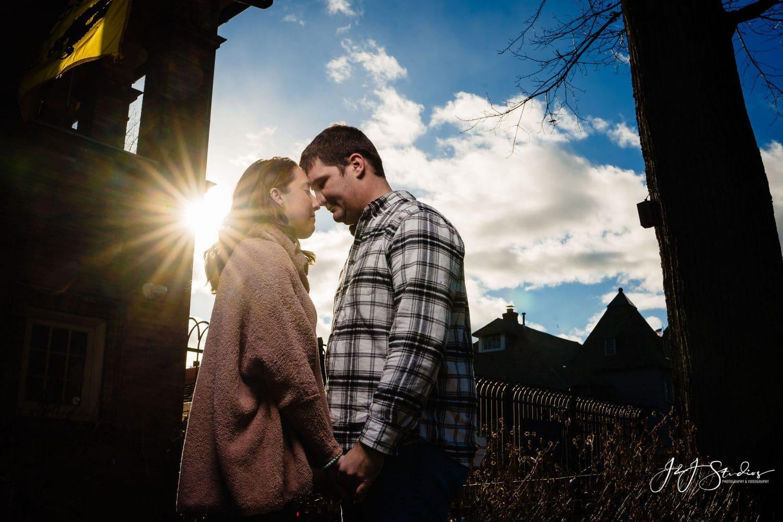 Boathouse Row kiss