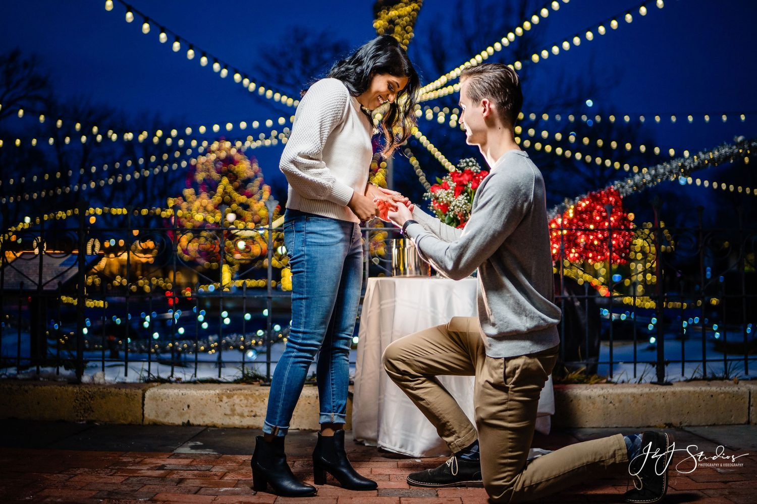 Franklin Square Surprise Proposal Session