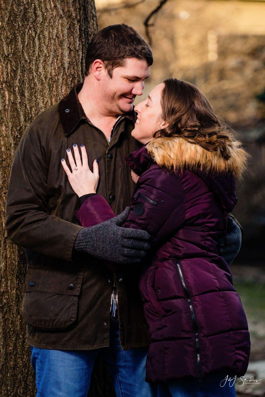 Lauren and Brian engagement