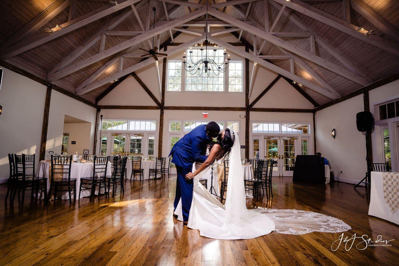 Bride and Groom Reception Riverdale Wedding Venues