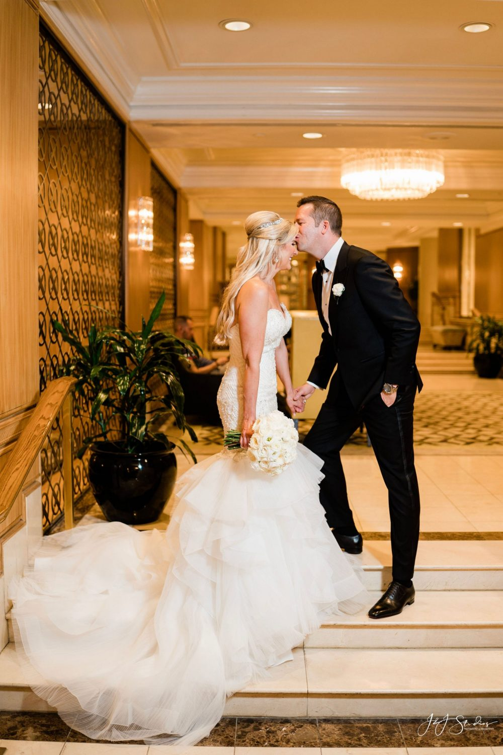 Bride and Groom Rittenhouse Hotel