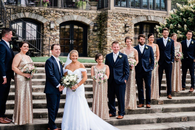 Outdoor Bridal Party