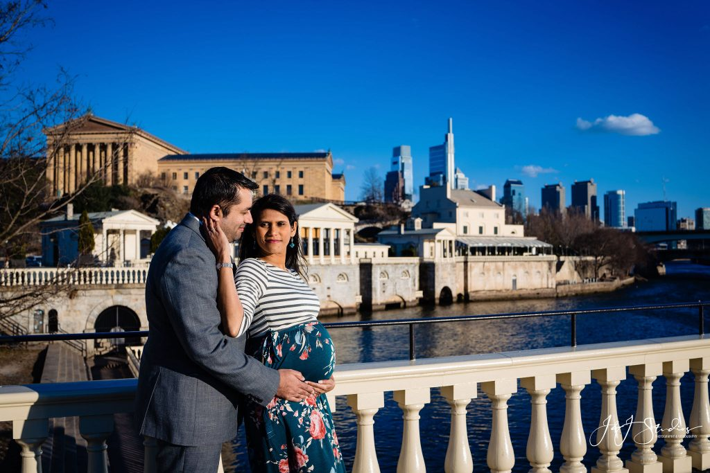 fairmount water works maternity photo