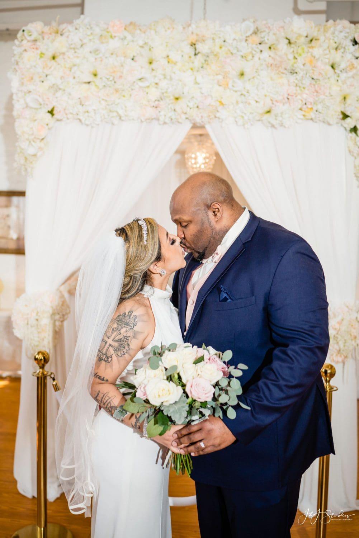 Bride and groom Philadelphia Wedding Chapel