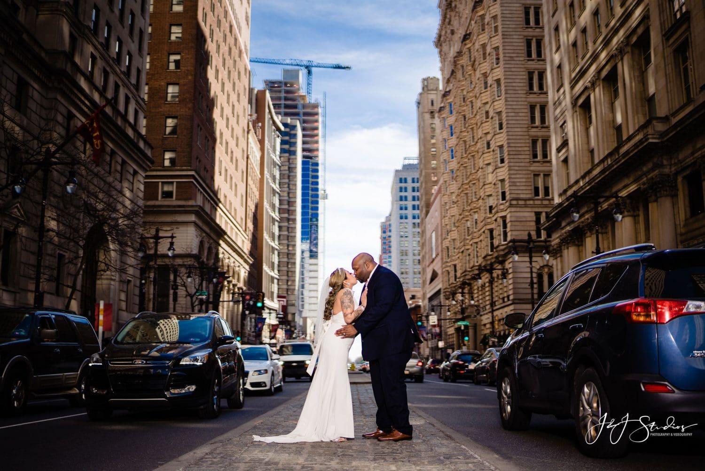 Just married Center City Philadelphia