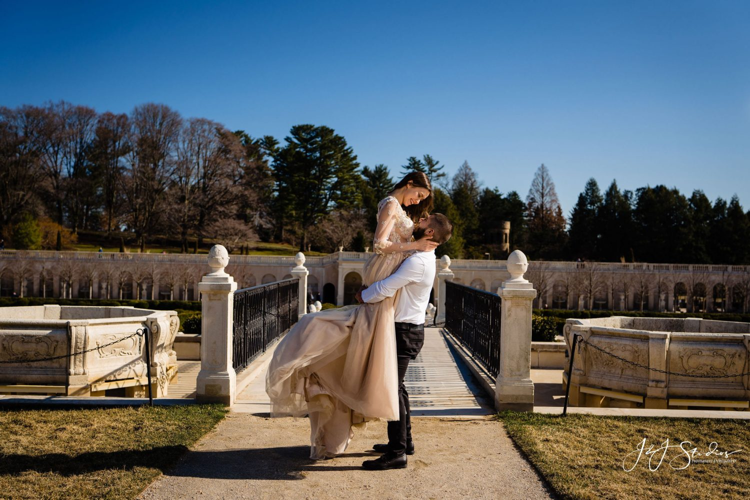 Couple at Longwood Gardens