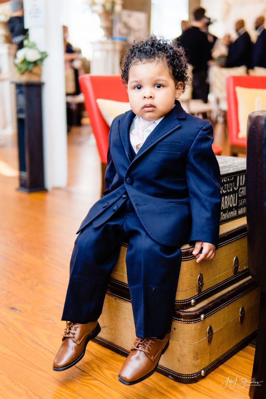 Boy at wedding Philadelphia Wedding Chapel