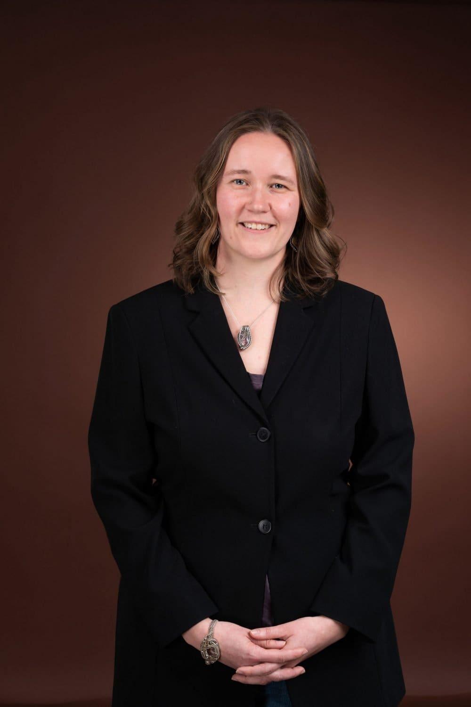 Smiling lady Fort Washington Headshot Corporate Photographer