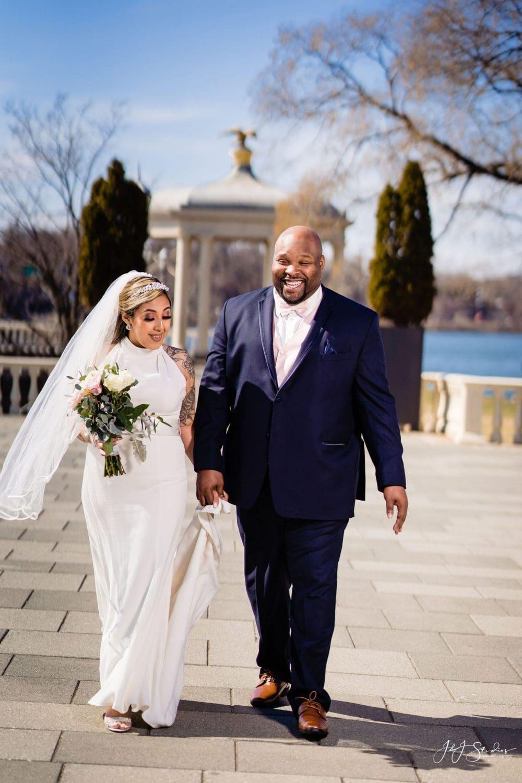 Bride and groom Philadelphia
