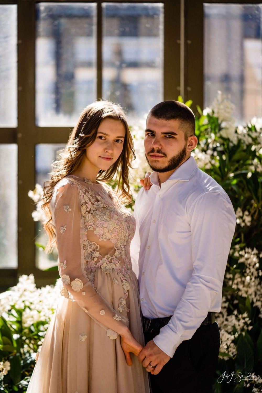 longwood gardens couple
