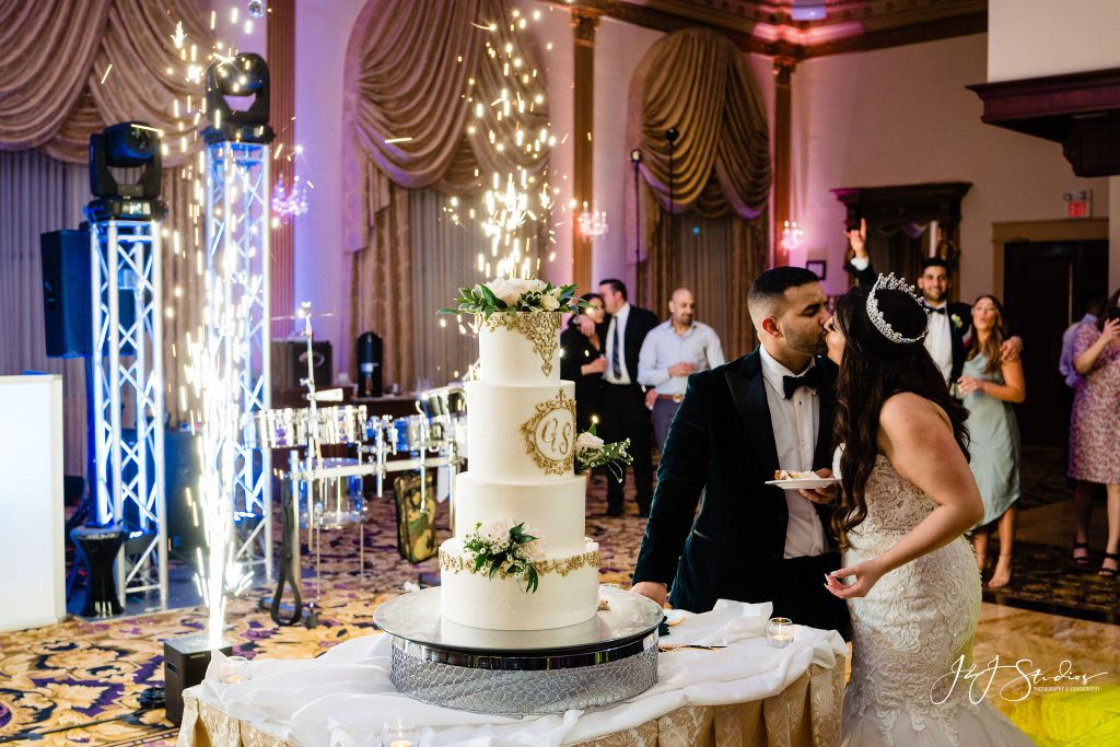 nj wedding cake cutting