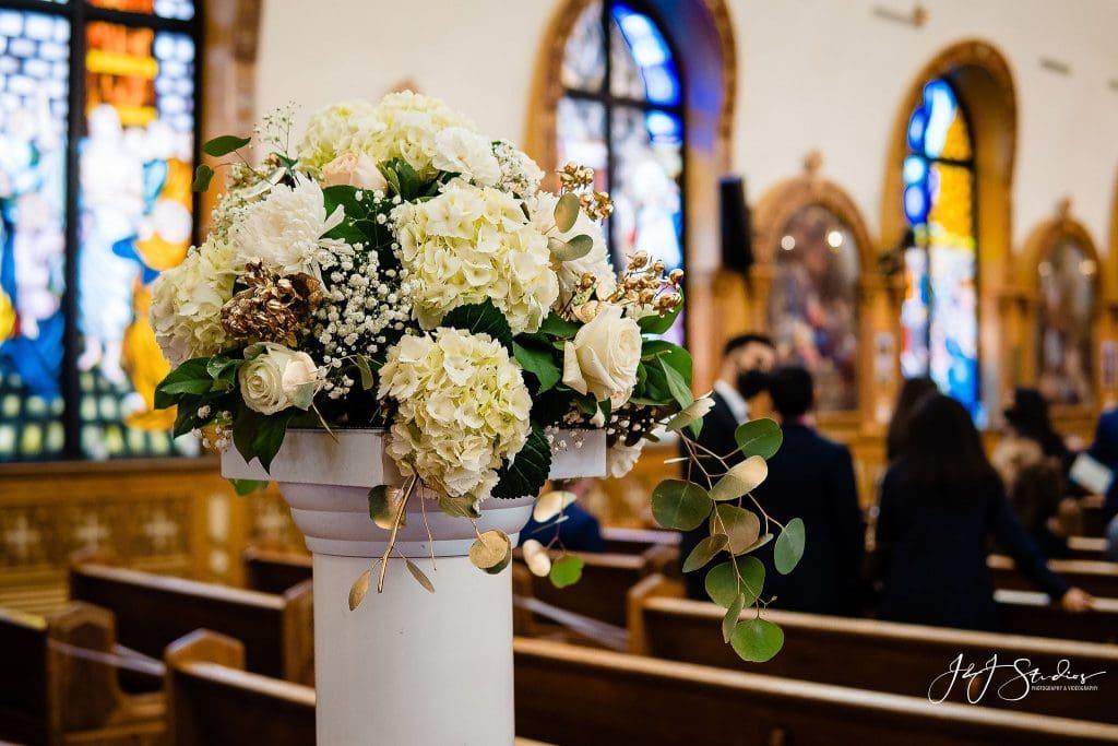 coptic church wedding flowers